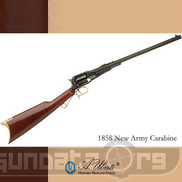 Beretta Uberti 1858 New Army Carabine Photo 2