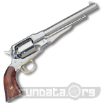 Beretta Uberti 1858 New Army Stainless Steel Revolver Photo 1