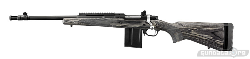 The Ruger Gunsite Scout Rifle includes the following feature straight