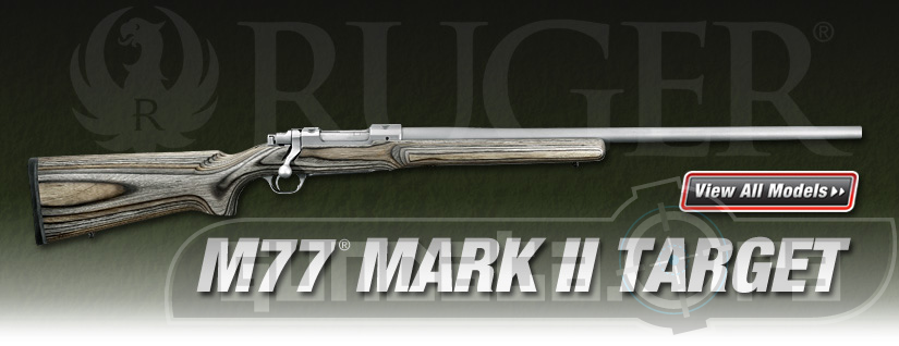 Ruger M77 Mark II Target Photo 4
