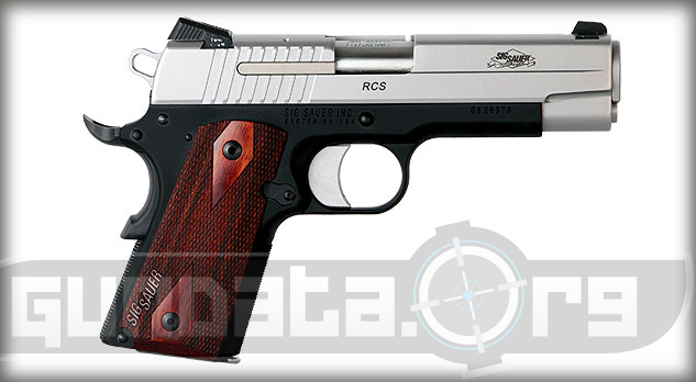 Sig Sauer 1911 RCS Two Tone Photo 2