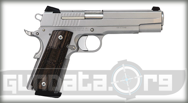 Sig Sauer 1911 Stainless Photo 2