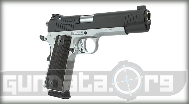 Sig Sauer 1911 Traditional Reverse Two Tone Photo 3