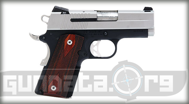 Sig Sauer 1911 Ultra Two Tone Photo 2