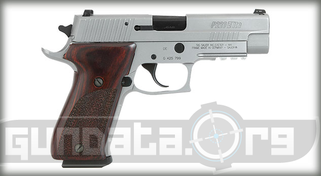 Sig Sauer P220 Elite Stainless Photo 2