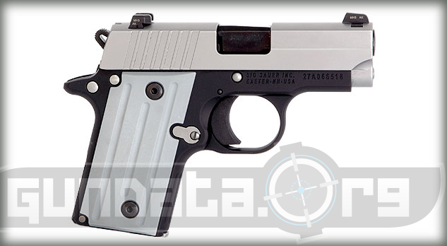 Sig Sauer P238 Two Tone Photo 2