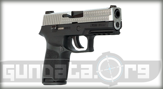 Sig Sauer P250 Diamond Plate Photo 3