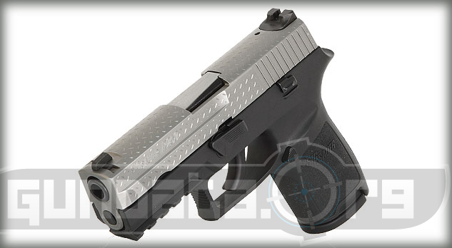 Sig Sauer P250 Diamond Plate Photo 5