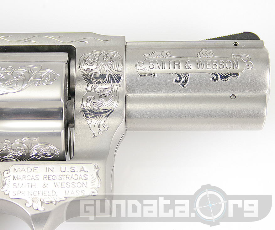 Smith and Wesson Custom Engraved Model 60 Photo 3