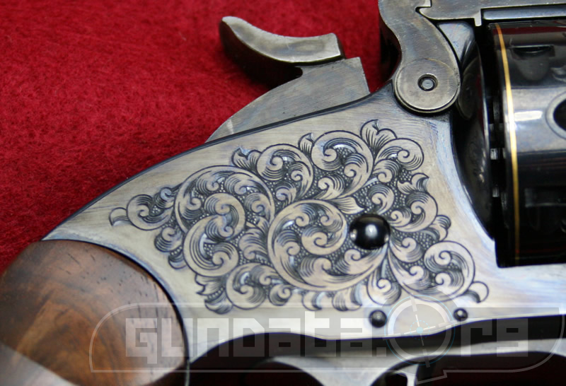 Smith and Wesson Engraved Model 3 Schofield Photo 2