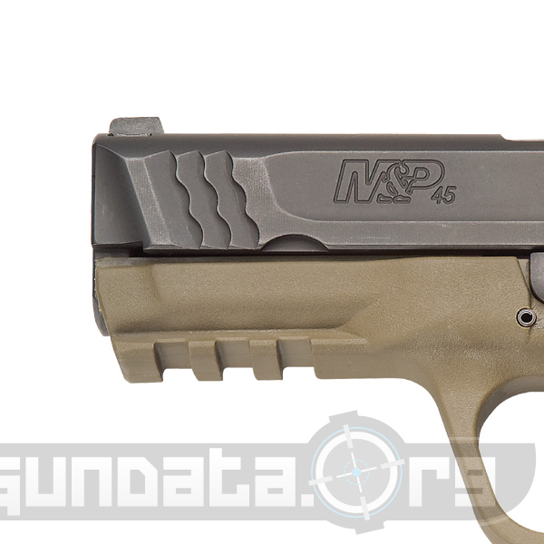 Smith and Wesson MP45 Dark Earth Brown Photo 2