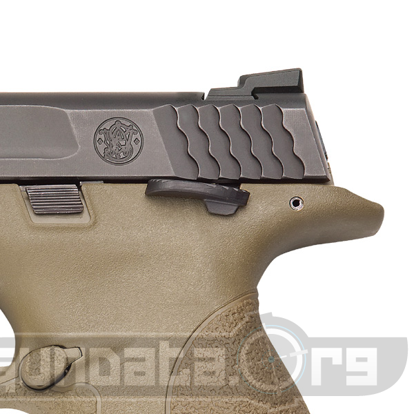 Smith and Wesson MP45 Dark Earth Brown Photo 3