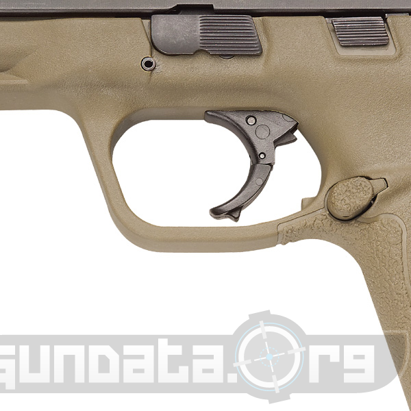 Smith and Wesson MP45 Dark Earth Brown Photo 4