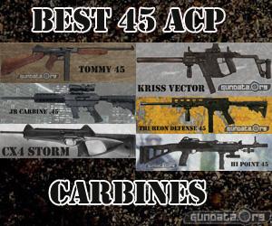 Best 45 ACP Carbines