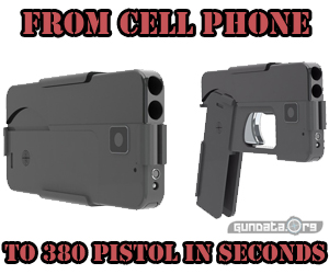 Pistol Looks Like Cell Phone