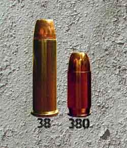 38 Special vs 380 ACP
