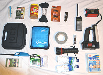 Typical Bugout Bag Contents