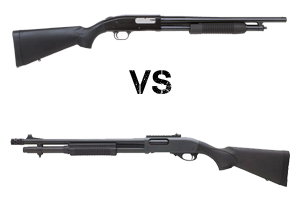Mossberg 500 vs. Remington 870